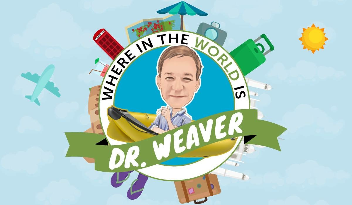 Where in the World is Dr. Weaver Graphic Art